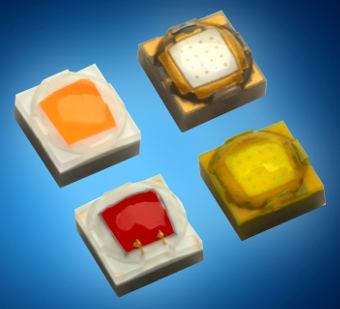 LEDs de alto brillo para iluminación