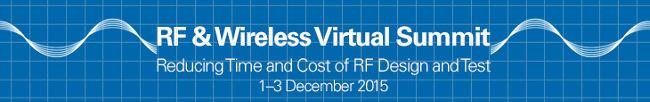 Cumbre interactiva virtual sobre RF & Wireless