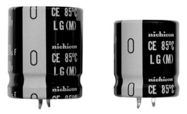 Condensadores electrolíticos de 600 V