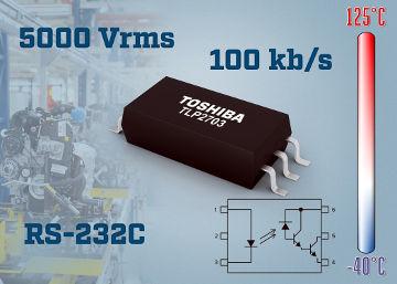 fotoacoplador para RS232C a 100 kbps