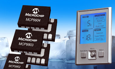 Sensores de temperatura multicanal