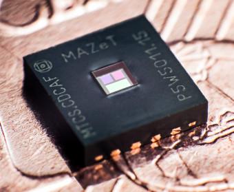 Sensor de color para iluminación