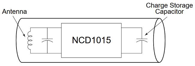 Transpondedor RFID de sólo lectura