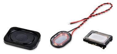 micro altavoces de bajo perfil
