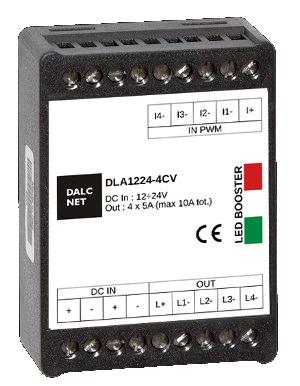 amplificador de señal de cuatro canales