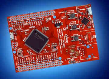Placas para evaluación de microcontroladores