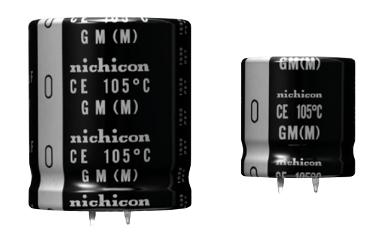Condensadores electrolíticos compactos