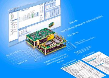 Convertidor con bajo EMI para ATCA