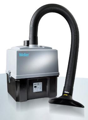 Extractor de humos de estaño