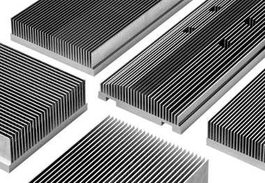 Heatsinks de aluminio