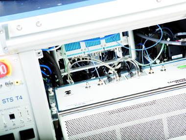 Sistema para prueba de semiconductores
