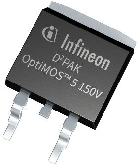 MOSFET de potencia de 150 V