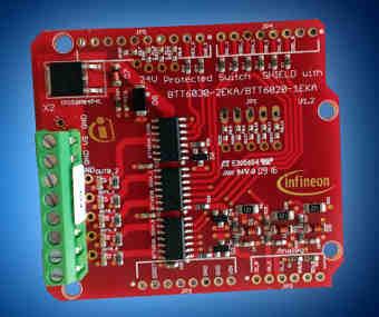 Tarjeta de evaluación compatible Arduino