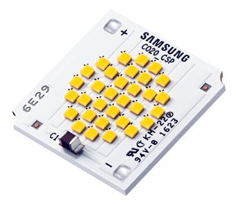 Módulos LED en encapsulado CSP