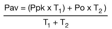 Formula sobre el ciclo de trabajo