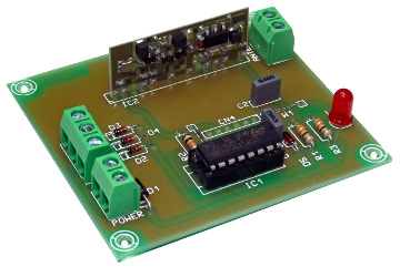 emisor RF para control a distancia