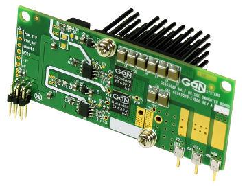 Plataforma de evaluación de transistores GaN