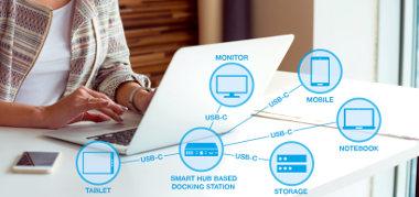 Concentradores SmartHub USB 3.1