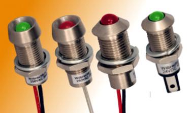 Indicadores LED para montaje en panel