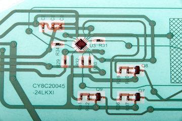 Circuitos flexibles con tinta de plata