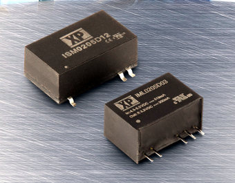 Convertidores miniatura de 2 W