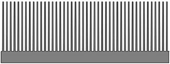 Disipadores térmicos con elevado coeficiente de ventilación