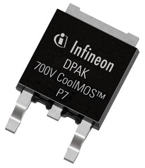 MOSFETs delgados de 700 V