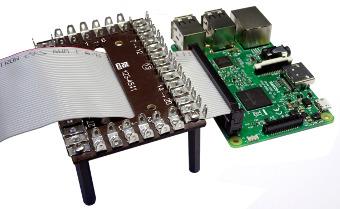 Placa de conexiones compatible con Raspberry Pi