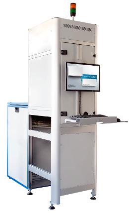 Sistema de inspección de placas de circuitos electrónicos