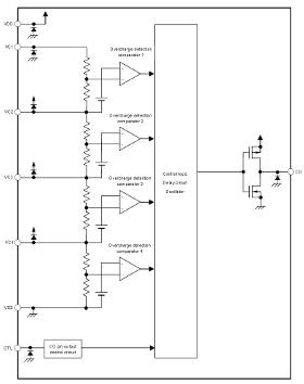 Circuitos de protección secundaria de baterías