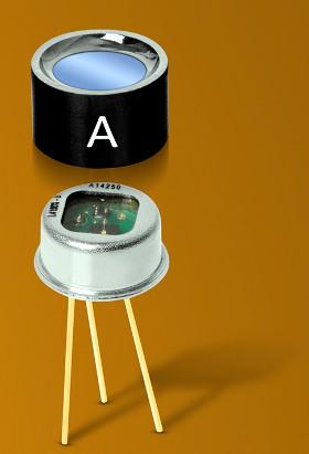 Filtros paso banda para detectores piroeléctricos