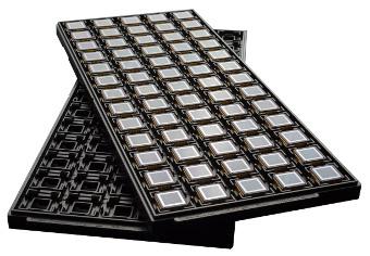 Sensor de 12 micrones para imagen térmica