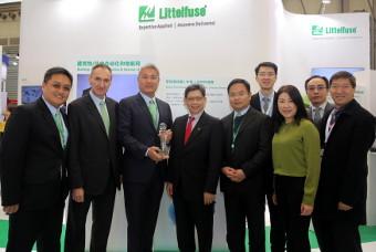 Littelfuse recibe el premio a la excelencia del proveedor