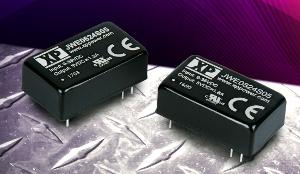Convertidores compactos con amplio rango de entrada
