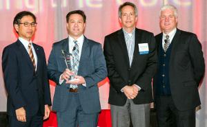 Infineon recibe el premio al proveedor del año 2016
