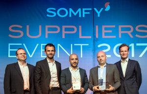 Silicon Labs gana el premio Somfy Supplier Innovation