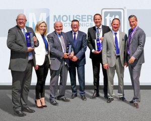 TTI y Mouser consiguen los premios de distribución europeos de Vishay