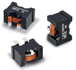 Inductor de potencia con hilo plano