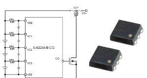 Circuito de protección de batería secundaria