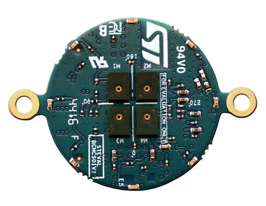 Plataforma Bluetooth de detección de sonido y movimiento