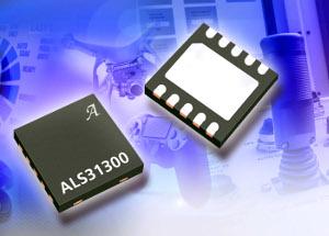 sensor lineal de tres ejes con efecto Hall