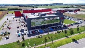 Ampliación de la capacidad en el centro logístico europeo