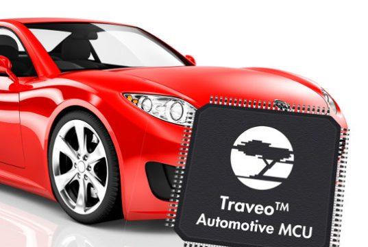 Microcontrolador para la industria automotriz