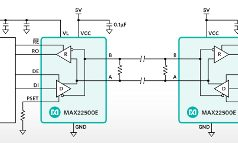 Transceptores RS-485 para control de movimiento