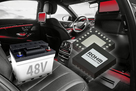 Convertidor reductor de 48 V para automoción