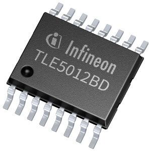 Sensor de ángulo dual con certificación AEC-Q100