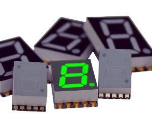 Displays LED de 7 segmentos SMT