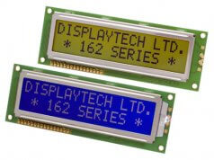 Módulos LCD alfanuméricos estándar 16x2