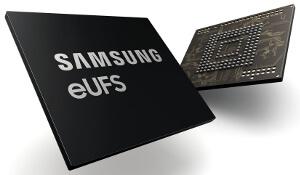 eUFS 2.1 de 256 GB para automoción