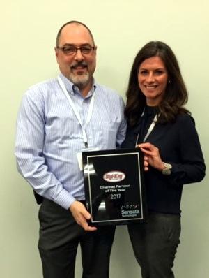 Sensata Technologies premia a Digi-Key con el premio Channel Partner 2017